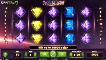 Starburst Slot「スターバースト」